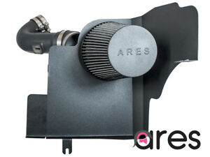 Ares Cold Air Intake System For 11 14 Ford Mustang 5 0l V8 W Heat Shield