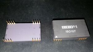 1x Burr brown Iso107 Ic Isolation Amplifier 1 Func High voltage 2500v Dip