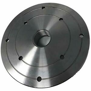 6 quot Steel Wood Lathe Face Plate 1 1 4 quot X 8tpi Threaded