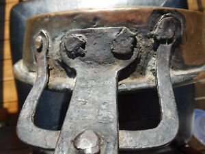 1700s Antique New England Fireplace Blacksmith Made Tin Lined Copper Cook S Pan