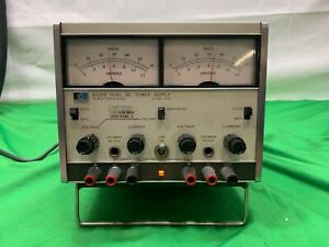 Hp Agilent Keysight 6228b Dual Dc Power Supply 0 50v 0 1a