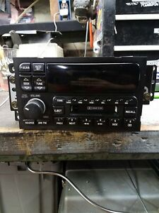 1996 Buick Roadmaster Factory Am fm Cassette Radio Tape Deck Tested 100 Works