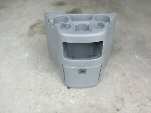 1997 2013 Ford Econoline Van E150 E250 E350 E450 Console Cup Holder Grey Gray B