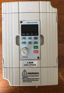 Svd es Motor Drives Series Single Phase Vfd Inverter Professional Variable 1 5kw