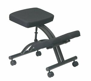 Ergonomic Knee Chair Home Office Desk With Wheels Kneeling Posture Memory Foam