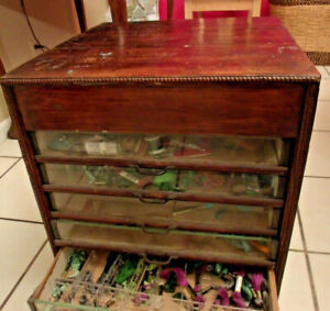 Vintage Cabinet Sewing Medical For Sheet Music Or Crafts Interesting Piece