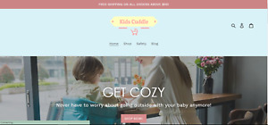 Established Profitable Baby Store Turnkey Dropship Website Business For Sale