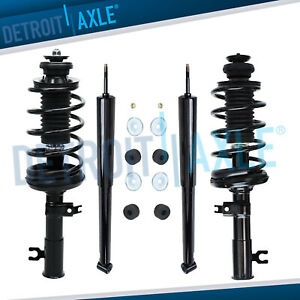 Chevy Aveo 5 Pontiac Wave 4pc Front Struts Coil Spring Rear Shocks Absorbers