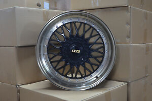 4 18 Inch Black With Nickel Brass Lip Rims Fits Et20 Ford Focus St 2013 2019