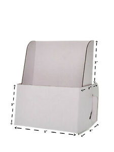 Lot Of 15 Card Board Displays 5 w X 6 1 4 h Cardboard Literature Holder