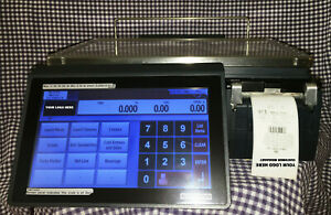 Bizerba Xc 100 Commercial 30lb Scale Food Label Printer 3 in 1 Pc Based