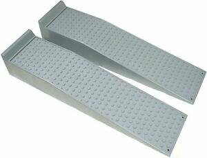 Bunkerwall Large Heavy Duty Truck And Car Drive Up Wheel Ramps 10 Tons D