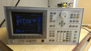 Hp 4156a Precision Semiconductor Parameter Analyzer