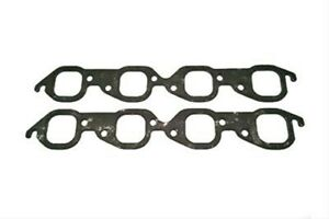 Sce Gaskets 413183 Graph form Header Gaskets Large Square Port Big Block Chevy