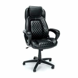 Essentials High back Executive Chair Racing Style Leather Office Chair With Fi