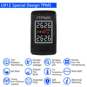 Car Auto Tpms Tire Tyre Pressure Monitoring System 4 Sensors For Honda Ma1760