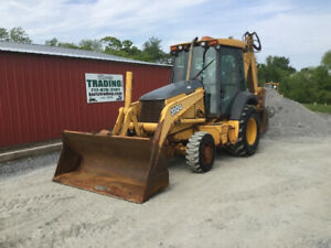 2003 John Deere 310g 4x4 Tractor Loader Backhoe W Cab Extend a hoe Coming Soon