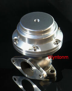 38mm Wastegate 7 Psi Turbo Stainless Steel Dump Valve W Ss Flanges Silver Ii