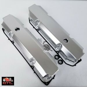 Big Block Mopar Dodge Chrysler Satin Fabricated Aluminum Valve Covers 383 440