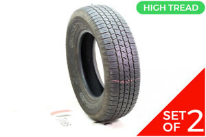 Set Of 2 Used 255 70r18 Goodyear Wrangler Sr A 112t 8 5 32