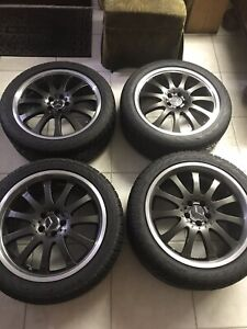 Carlsson 8 5 x20 10 5 x20 Staggered Wheels Tires For Mercedes Benz