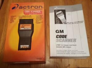 Actron Code Scanner Gm Saturn Chevy Pontiac Oldsmobile Buick Cadillac