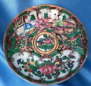 Antique Chinese Famille Rose Dish