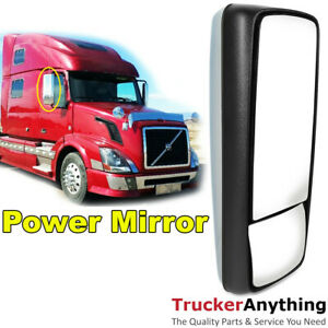 Armless Side Mirror Assembly Volvo VNL 04-15 Right Passenger Chrome Power Heated $224.00