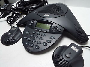 Polycom Cisco Ip Conference Station Phone Cp 7936 2201 06652 60 W Mic Kit