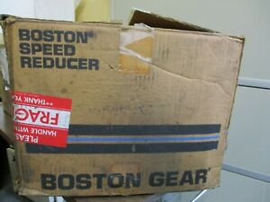 New Boston Gear 10888 03 Speed Reducer 40 1 Ratio 1 33 Hp