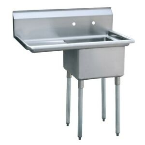 Atosa Mrsa 1 l 39 1 Compartment Stainless Steel Sink