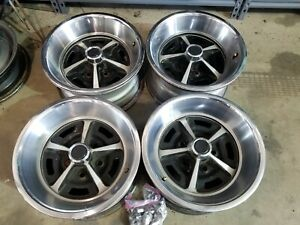 Ford Mopar Magnum 500 14x7 Wheels Rims 5x4 5 Mustang Falcon Charger Coronet