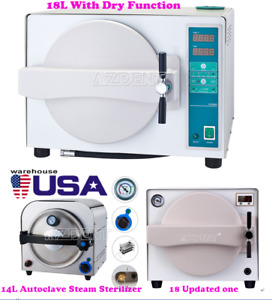 14l 18l Dental Autoclave Steam Sterilizer Medical Sterilization Lab Equipment