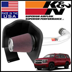 K n 77 Series Cold Air Intake System Fits 2015 2019 Chevy Tahoe 5 3l 6 2l V8