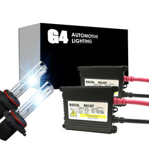 G4 Automotive 9006 Hb4 Premium Hid Kit Ac 35w Headlight All Color For Gmc Sierra