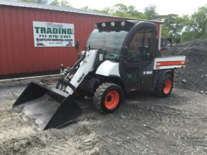 2005 Bobcat 5600 4x4 Diesel Toolcat Utility Vehicle W Cab Loader A c Heat