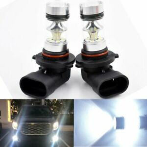For 2002 2016 Ford F150 Super Bright H10 9145 9005 Cree Led Fog Light Bulbs 80w