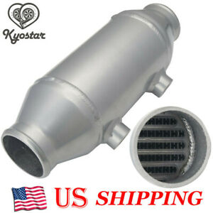 4 X 6 Turbo Supercharger Water Liquid To Air Intercooler Barrel Air Cooler Kit
