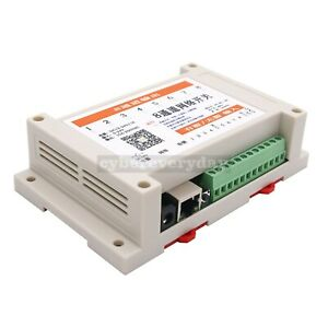 Network Relay Controller Web 8 In 8 Out tcp Udp Support Offline Mqtt App P2p Jm