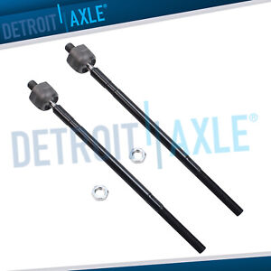 For 2006 2007 2008 Ford Focus Pair Front Left Right Inner Tie Rod End Links
