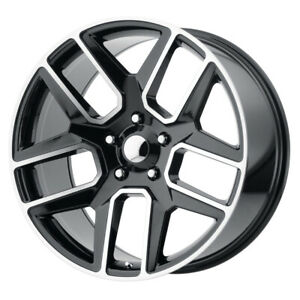 Oe Creations Pr192 20x9 6x139 7 Offset 19 Gloss Black And Machined Qty Of 4