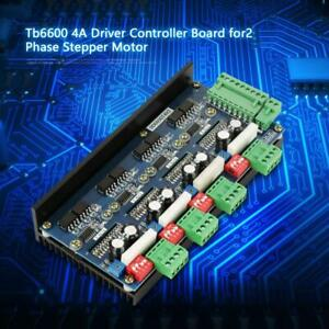 New Stepper Motor Driver Controller Board 4axis 2 Phase Tb6600 4 0a Motor Driver