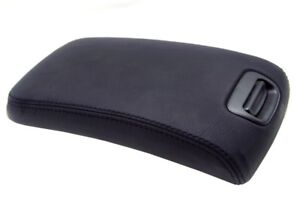Center Console Armrest Leather Synthetic Cover Fits Nissan Maxima 00 03 Black