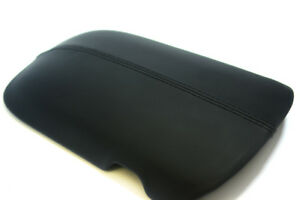 Center Console Armrest Vinyl Leather Cover For Ford Mustang 15 19 Black