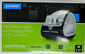 Dymo Labelwriter 450 Turbo High speed Label Postage Thermal Printer For Pc Mac