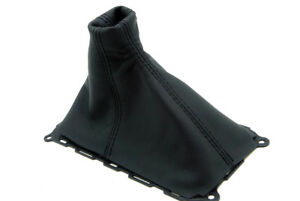 Manual Shift Boot Leather Synthetic For Mustang Gt 10 14 Black