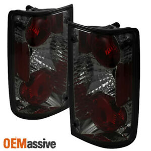 Fits Smoked 89 95 Toyota Pickup Truck Dlx Sr5 Tail Brake Lights Lamps Left right