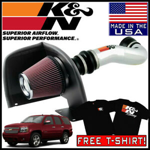 K n 77 Series Cold Air Intake System Fits 2007 2008 Chevy Tahoe 4 8l 5 3l V8