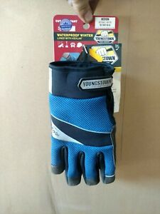 Youngstown Size Medium Waterproof Winter Gloves Lined With Kevlar