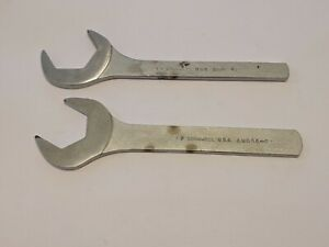 Cornwell Tools 2 Pc Thin Open Ended Wrench Awc42 Awc38 F 1 3 16 1 5 16 Usa